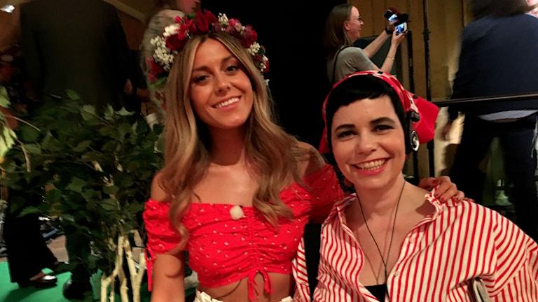 Bianca Ingrosso och Carolina Norén