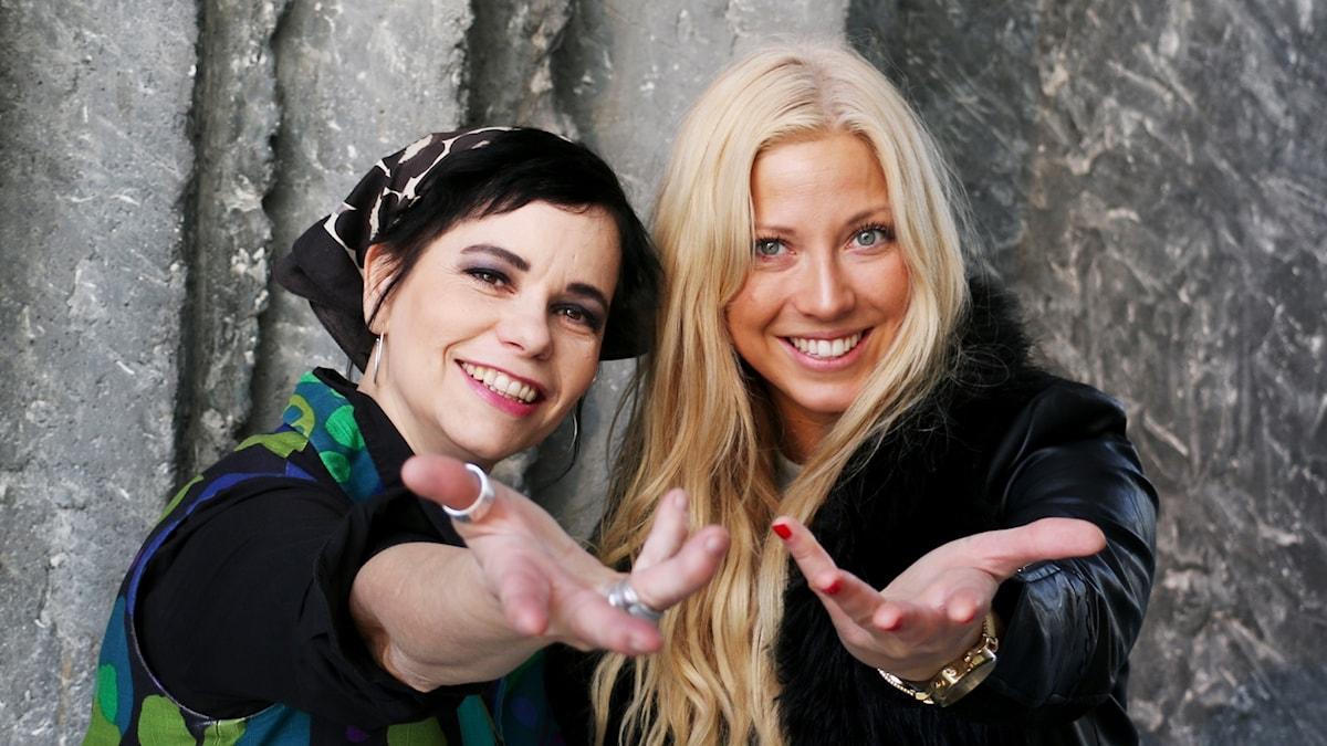 Carolina Norén och Sigrid Bernson