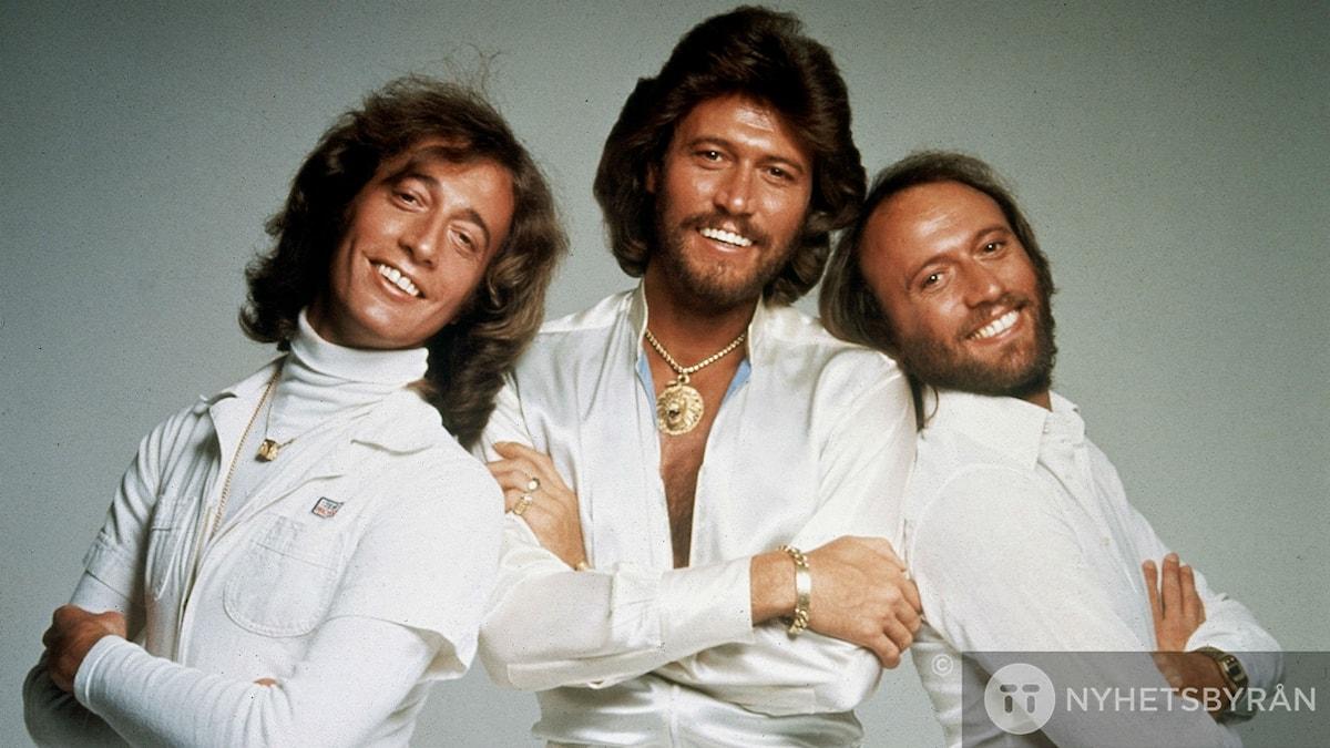 Robin Gibb, Barry Gibb and Maurice Gibb i Bee Gees