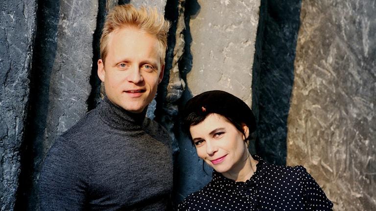 Andreas Weise och Carolina Norén
