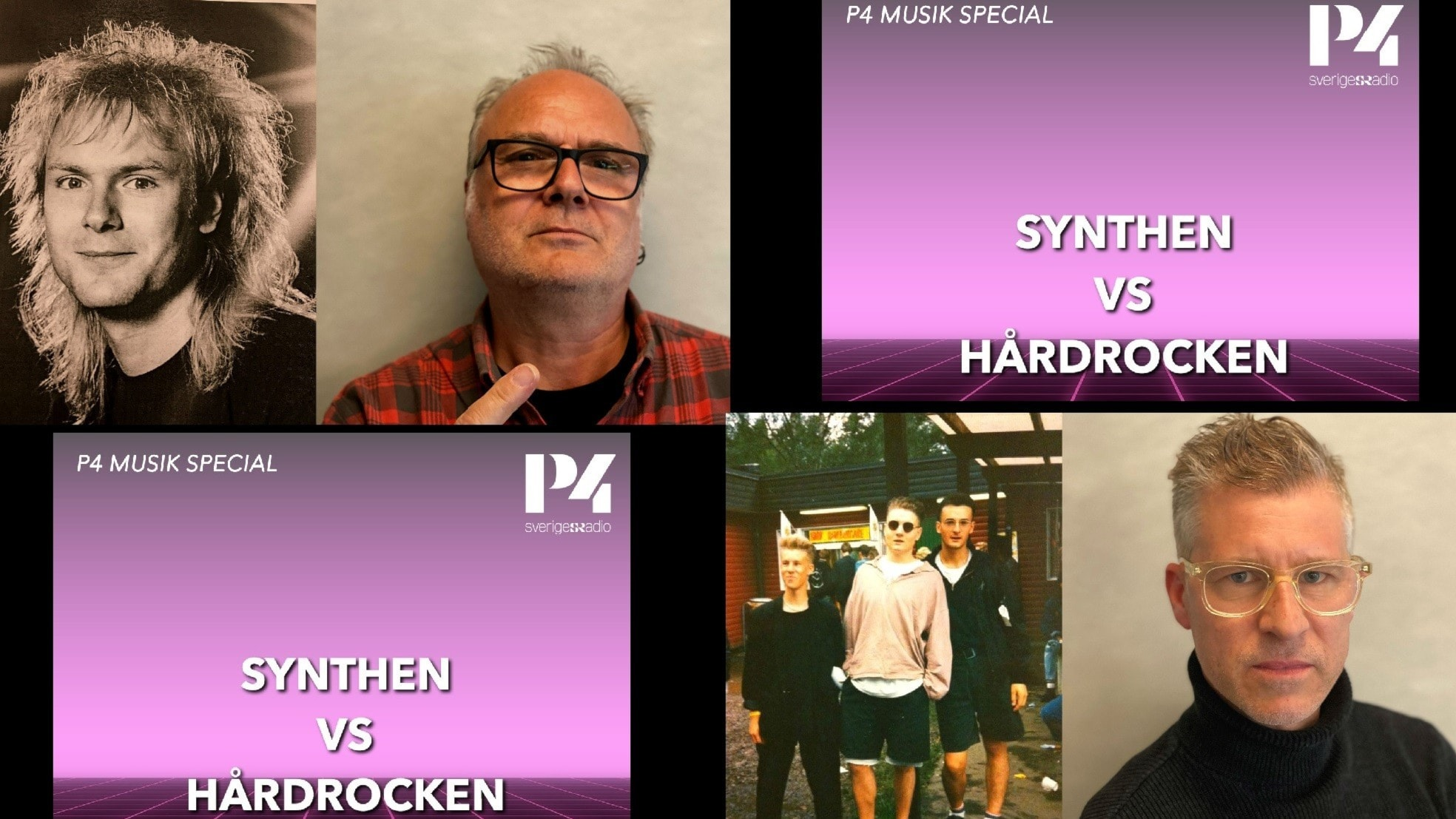 80-talet ringde: Synthen vs Hårdrocken