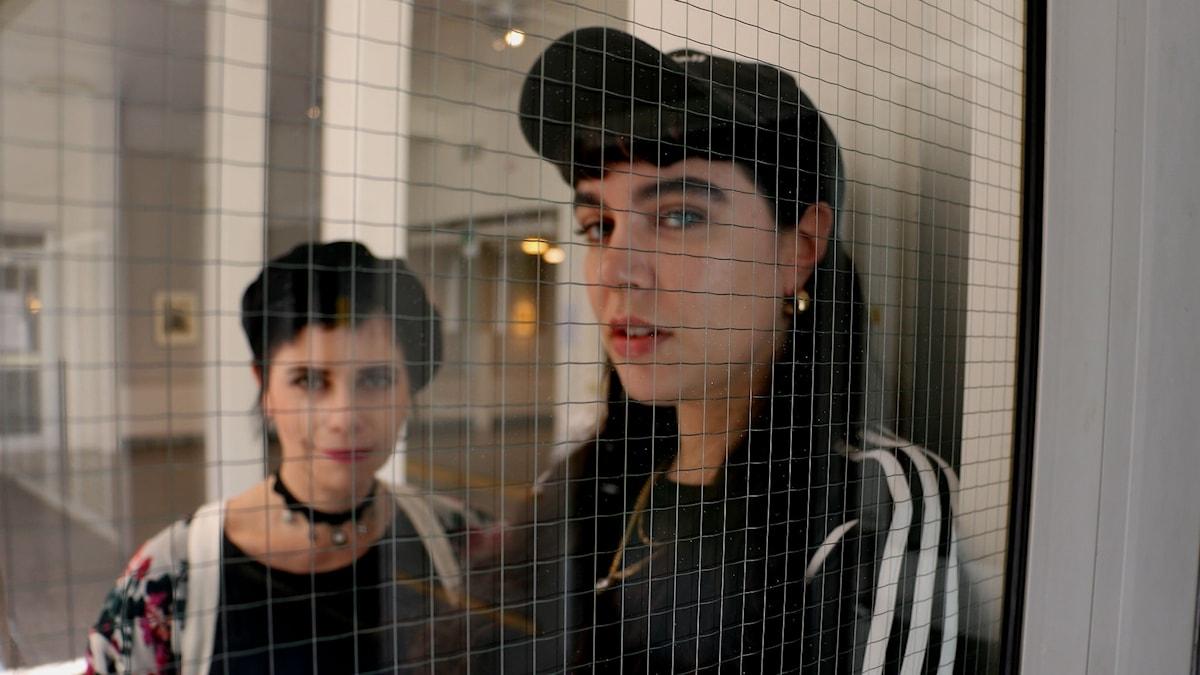 Carolina Norén och Beatrice Eli
