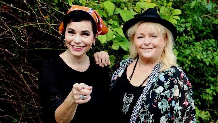 Carolina Norén och Kikki Danielsson