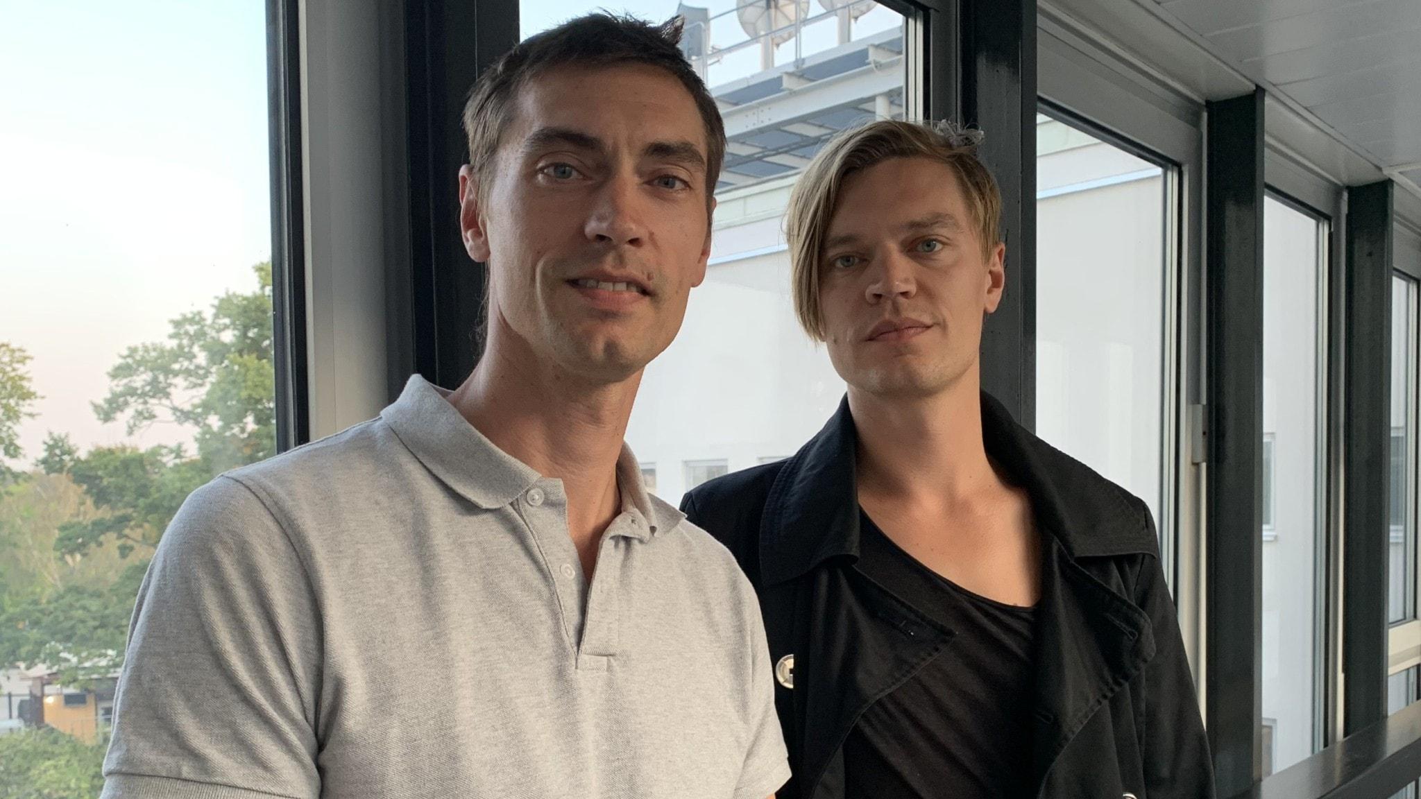 Leken blev till allvar för Gustaf och Viktor Norén