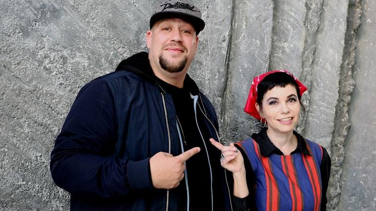 Nano och Carolina Norén