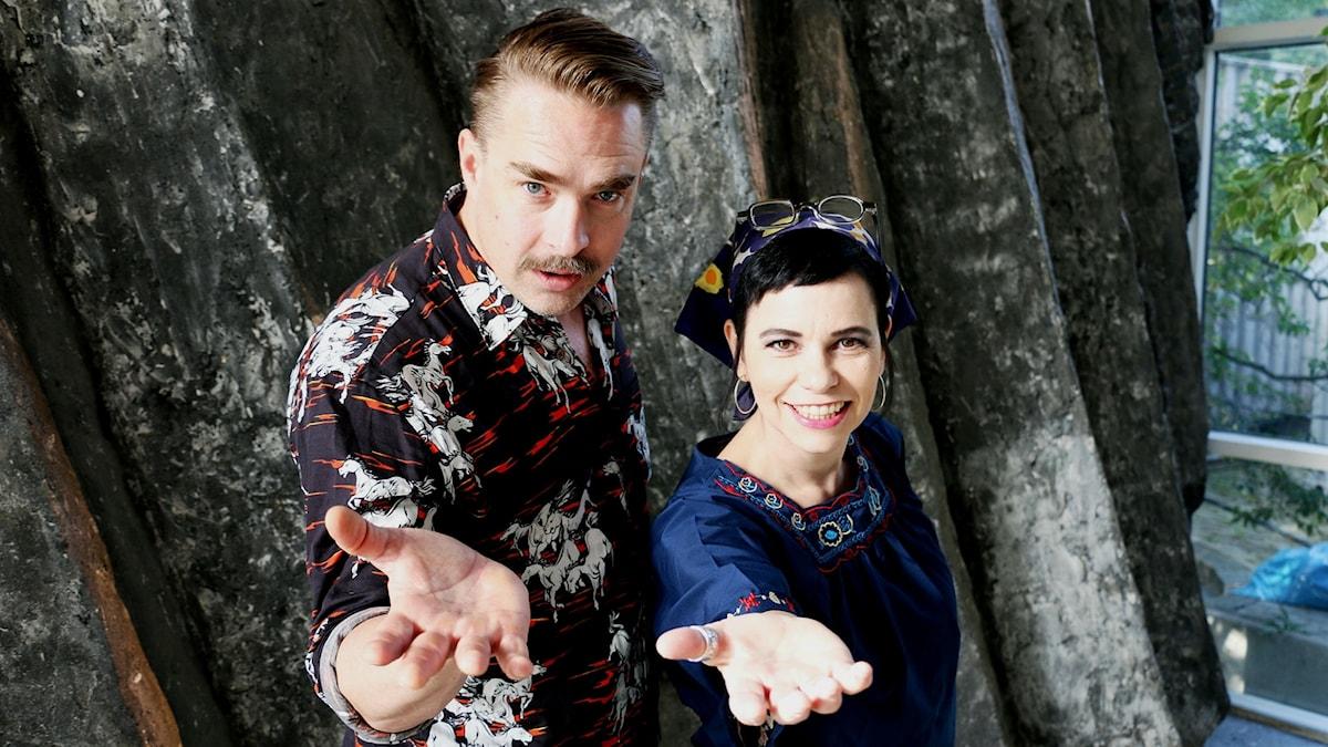 OLSSON och Carolina Norén