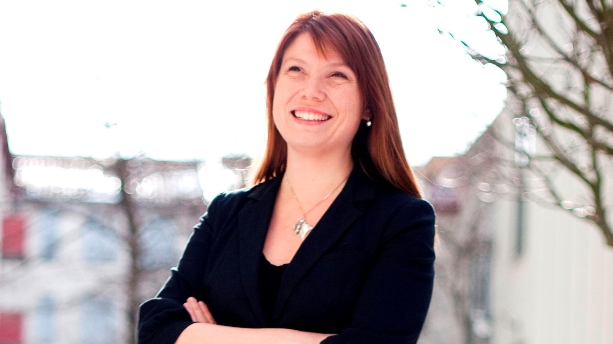 Katharina Brunat, grön entreprenör och en av de drivande i nätverket Nudging Sweden