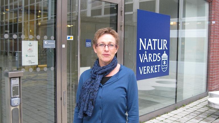 Maria Ågren GD Naturvårdsverket. Foto: Johan Bergendorff / Sveriges Radio