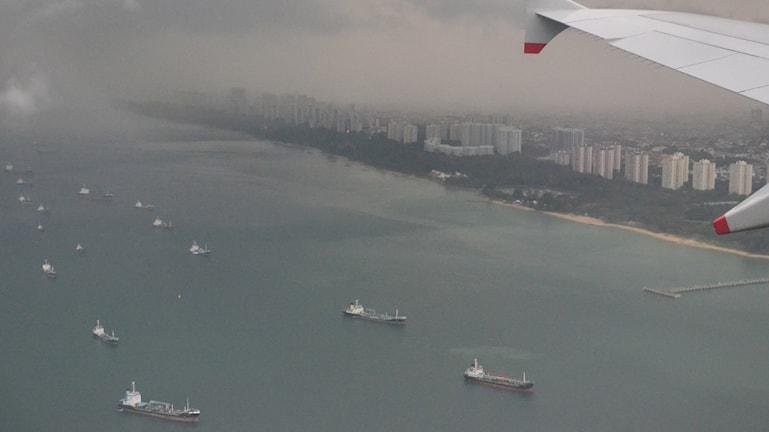 Singapore har ökat sin landyta med mer än 25 procent sedan 60-talet. Foto: Marcus Hansson