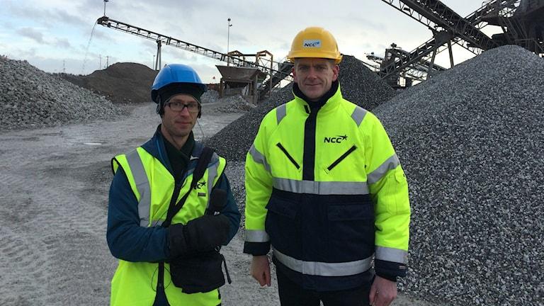 Björn Gunér och Michael Hansen, NCC Roads