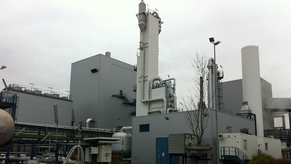 Vattenfalls pilot-CCS anläggning Schwarze pumpe