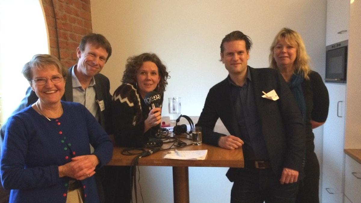 Klotets gäster i programmet från Klimatforum 2016