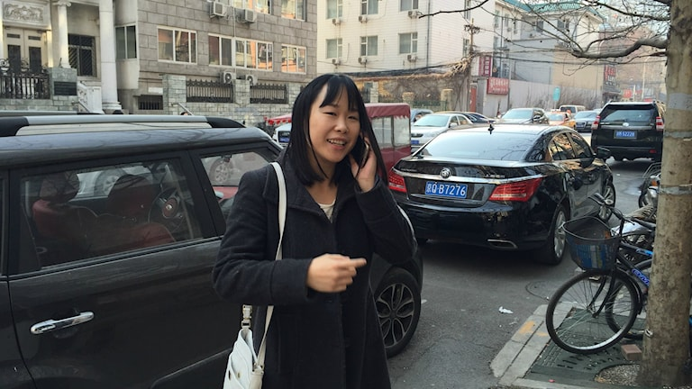 Joanna Chiu är kinakorrespondent för dpa med allergi mot luftföroreningar