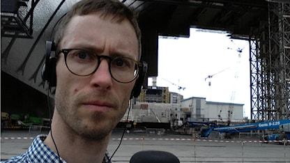 Björn Gunér i Tjernobyl