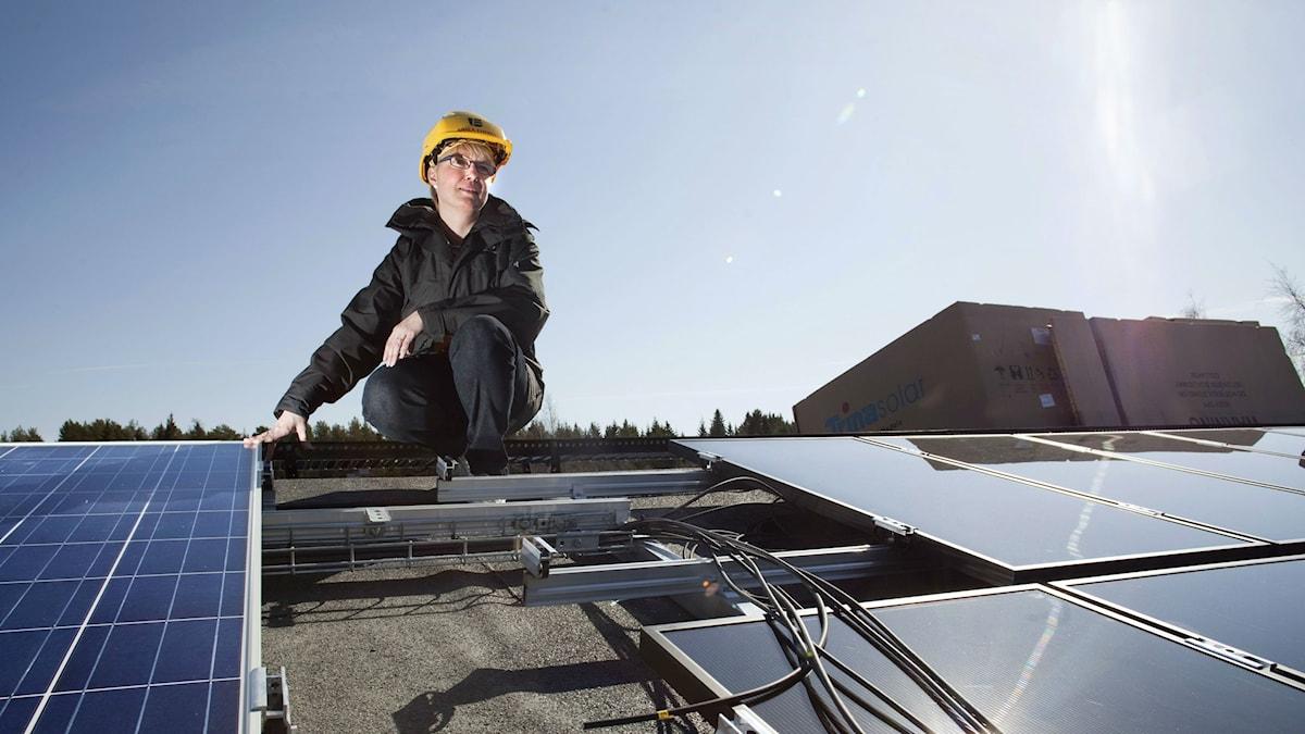 solenergi, solcell, Umeå energi