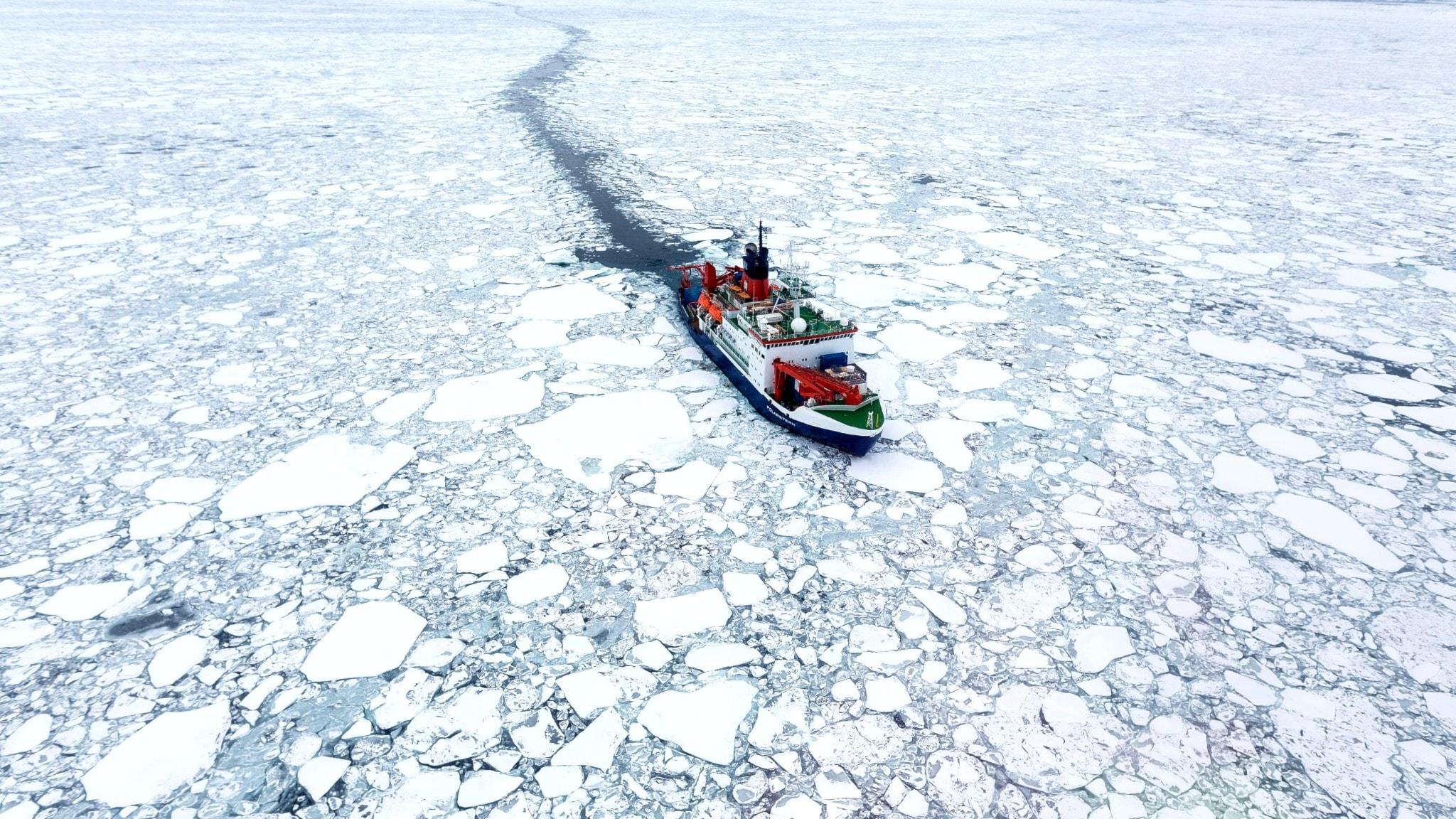 Därför gick polarexpeditionen snabbare än tänkt
