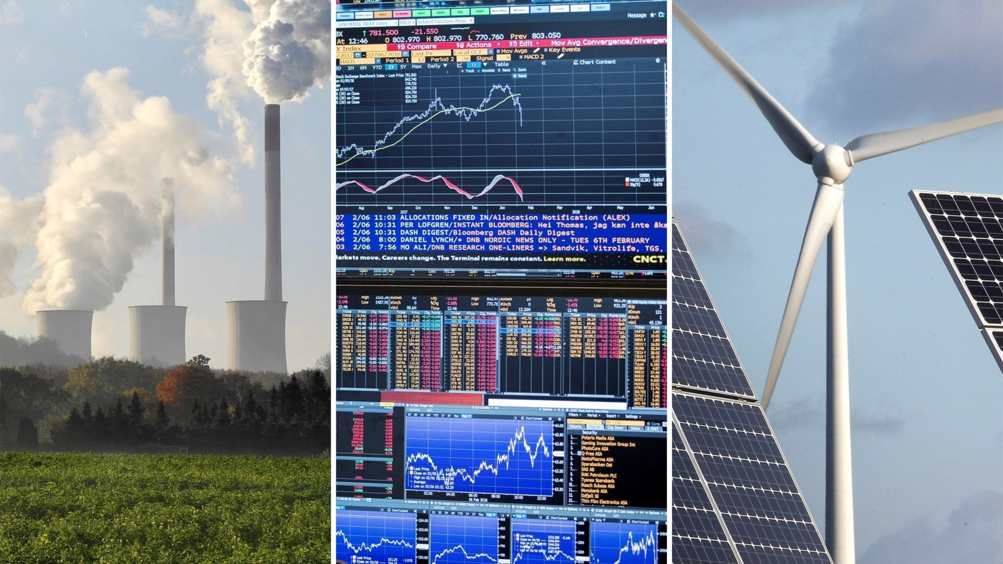 Grönare finanser