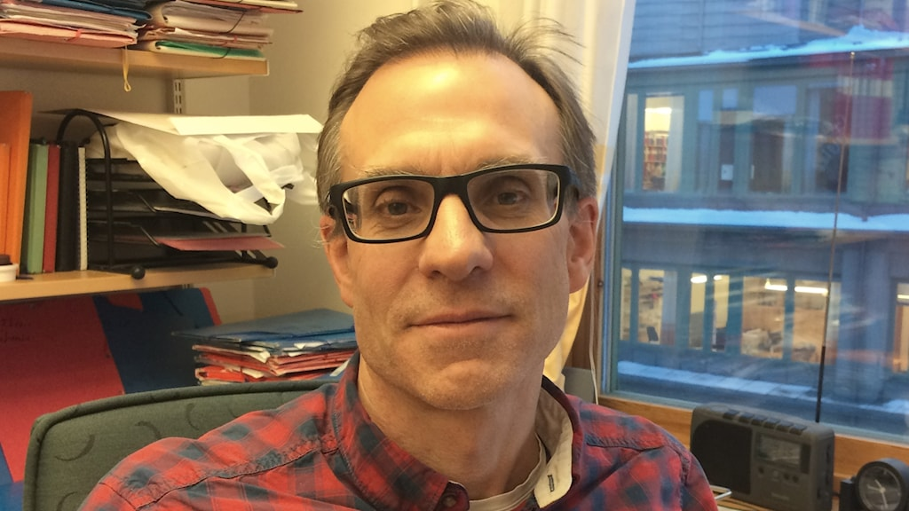 Örjan Gustafsson, professor i geokemi på Stockholms universitet.