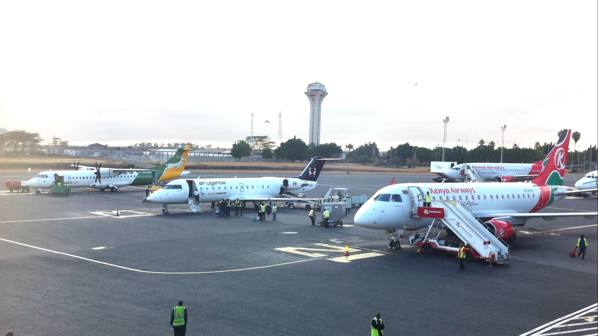 Flygplats i Kisumu, Kenya