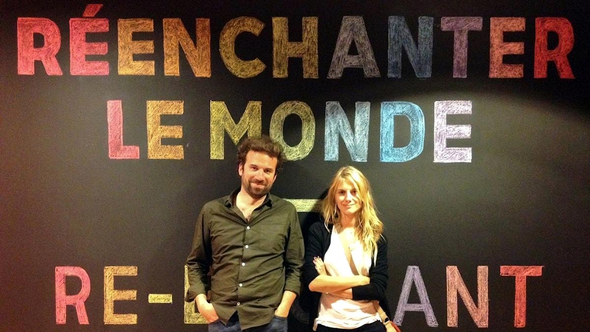 Cyril Dion och Mèlanie Laurent har gjort dokumentärfilmen Imorgon (Demain). En film som vunnit en miljonpublik, mycket på grund av sin positiva framtidsvision.