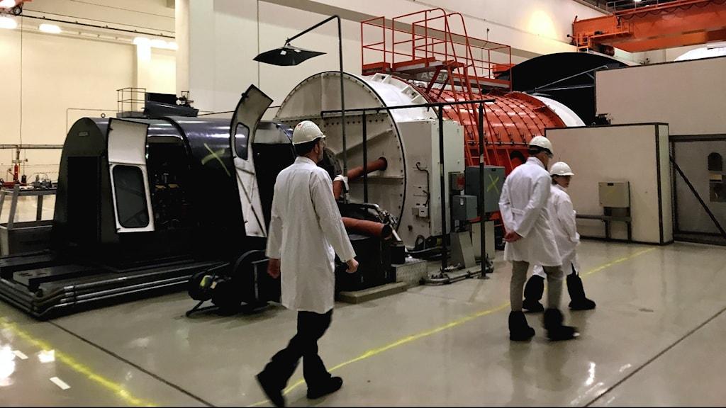Det har varit tyst och kallt i turbinhallen vid kärnkraftverket i Barsebäck de senaste 15 åren.