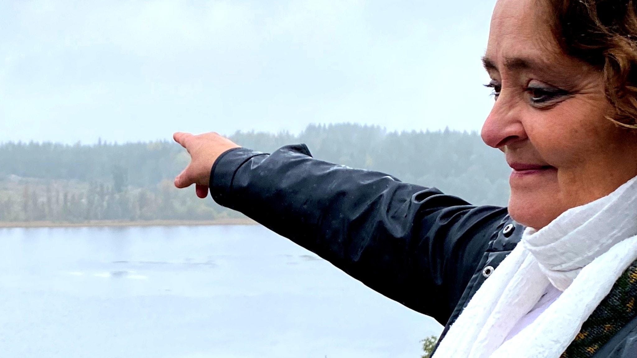 Carina Gustafsson bor nära Vättern och är ordförande i Urbergsgruppen, en av de miljöorganisationer som driver en rättslig kamp mot gruvföretaget.