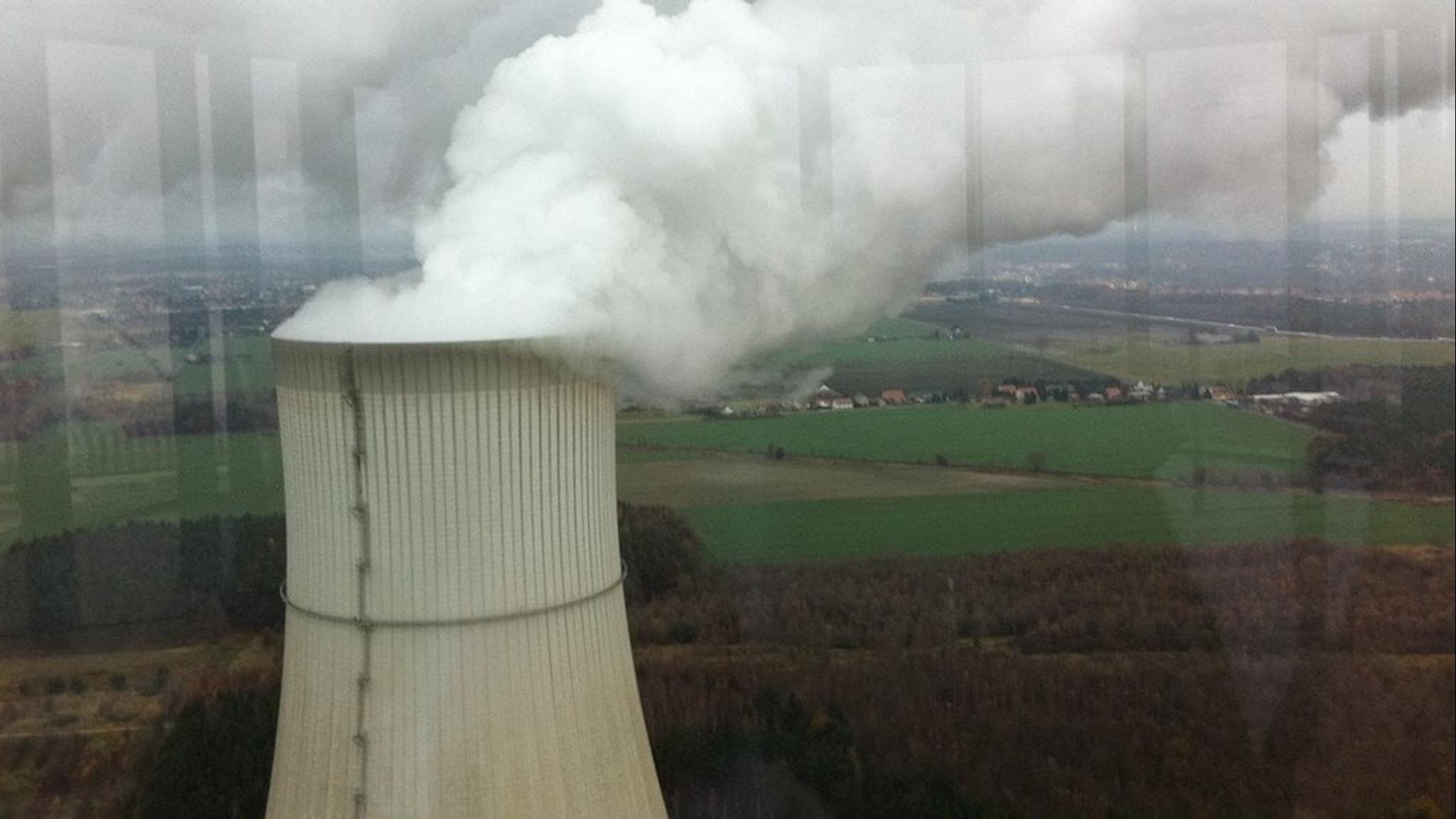 Kyltorn, kolkraftverk