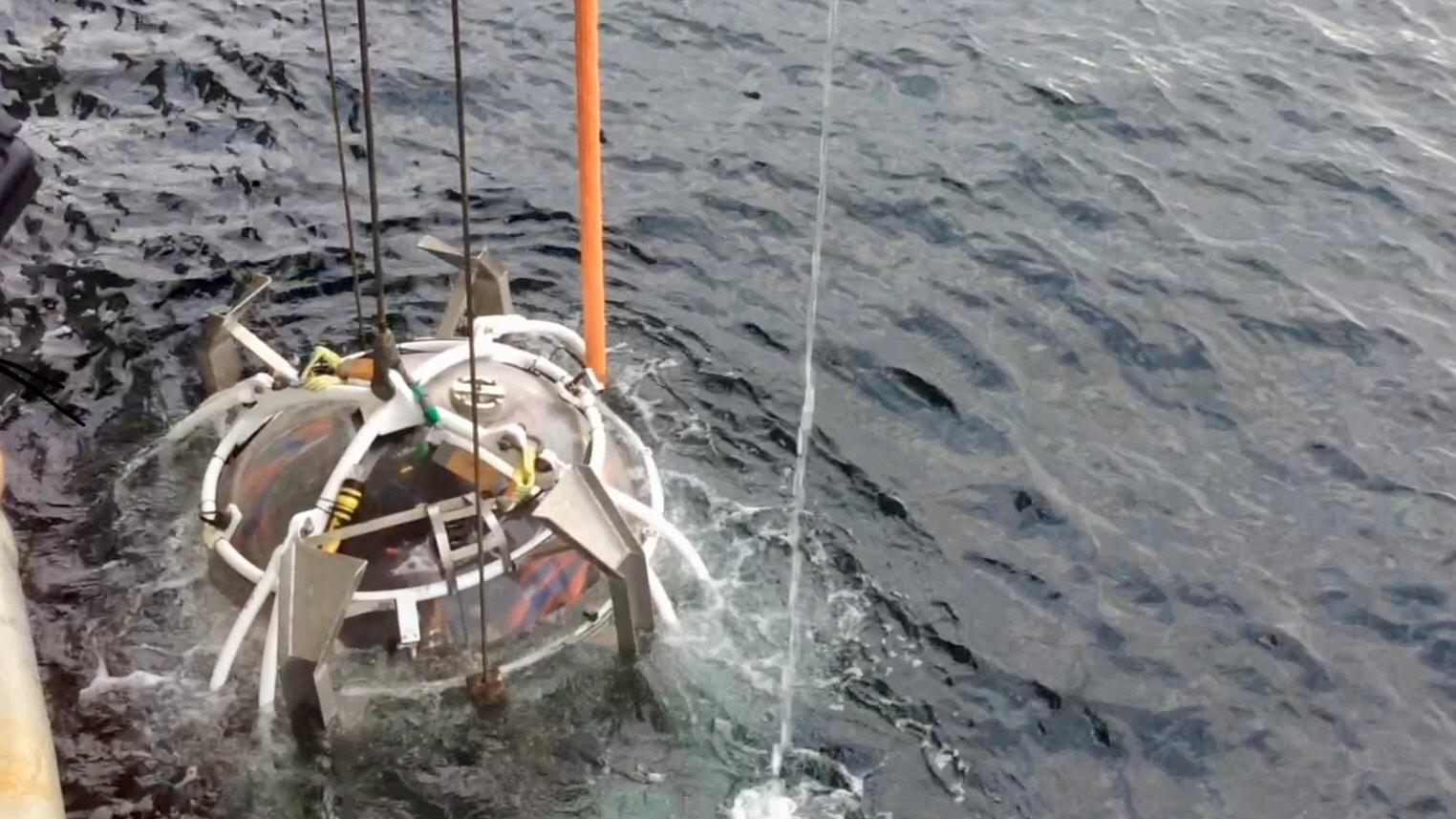 Läckande vrak ett nytt hot mot havsmiljön