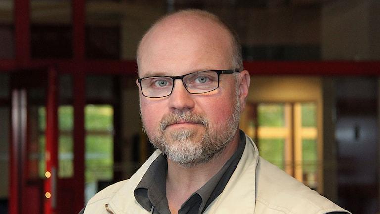 Marcus Frånberg. Foto: Janne Mårdberg/Sveriges radio.