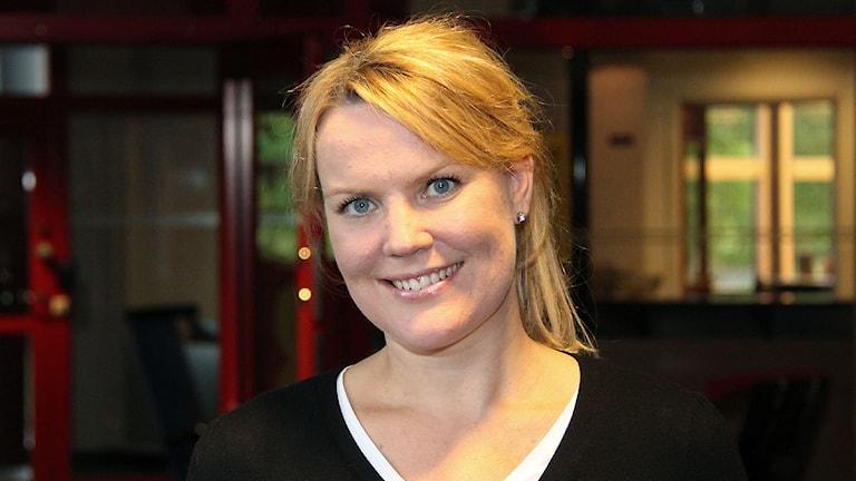 Pernilla Anth Jacobsson. Foto: Janne Mårdberg/Sveriges radio.