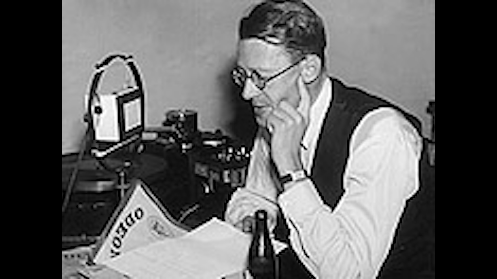 Sven Jerring. Arkivbild