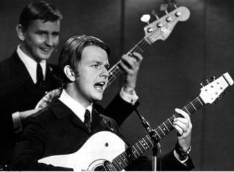 Sven-Erik Magnusson i dansbandet Sven-Ingvars 1966. Foto: Bo Schreiber/SCANPIX