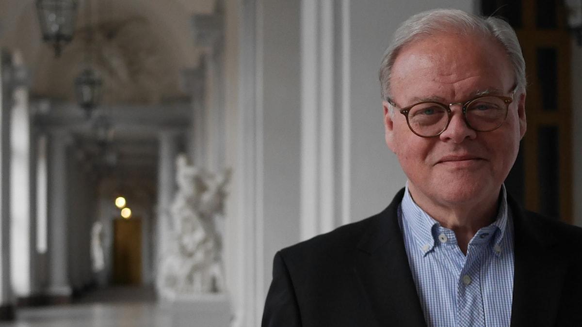 Odd Zschiedrich, ceremonimästare på Kungliga slottet.