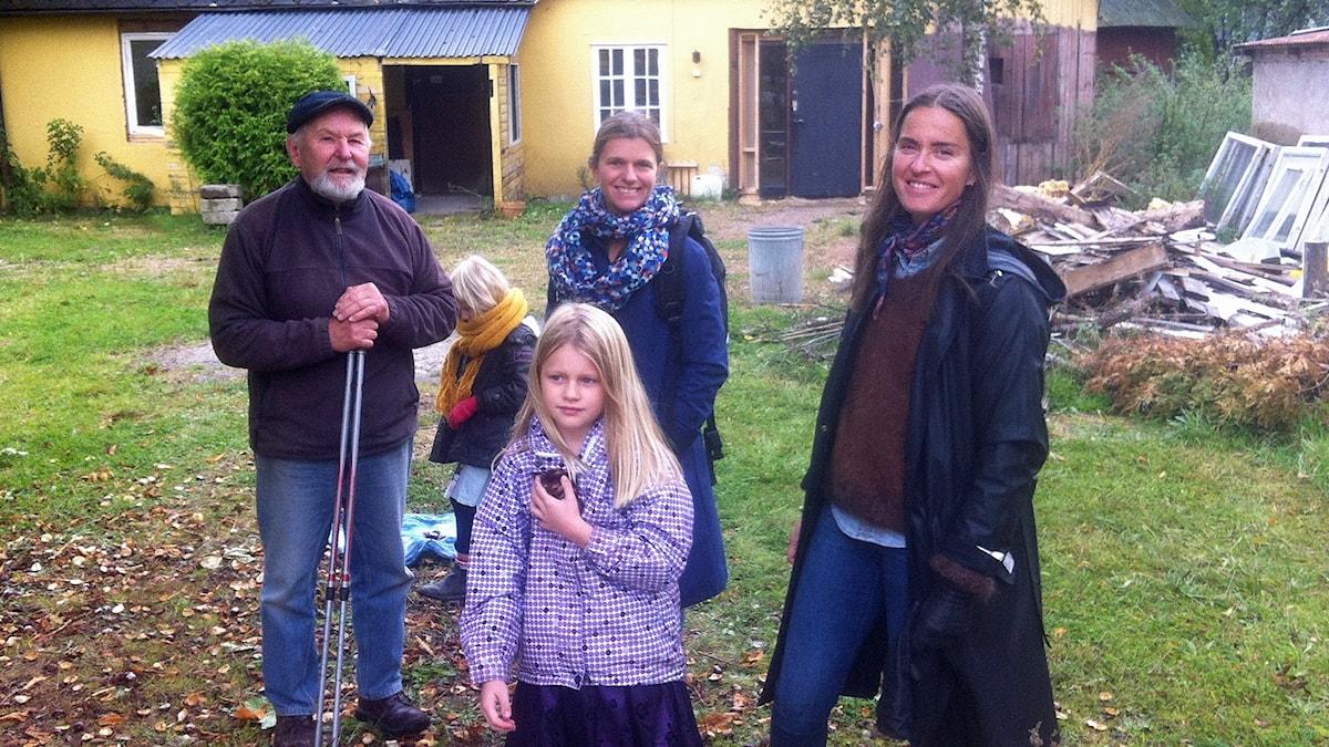 Byborna i Röstånga har själva renoverat en av byns problemfastigheter