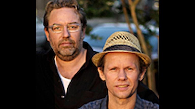 Mats Schubert och Bo Sundström Foto privat