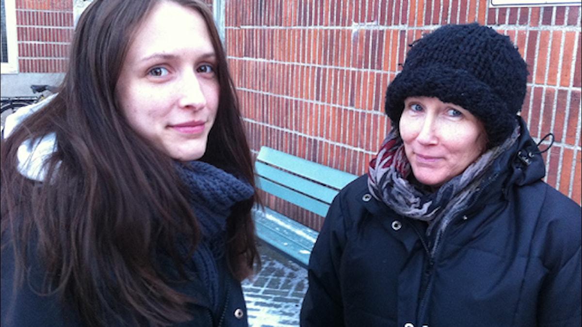 Patricia  och mamma Iréne.