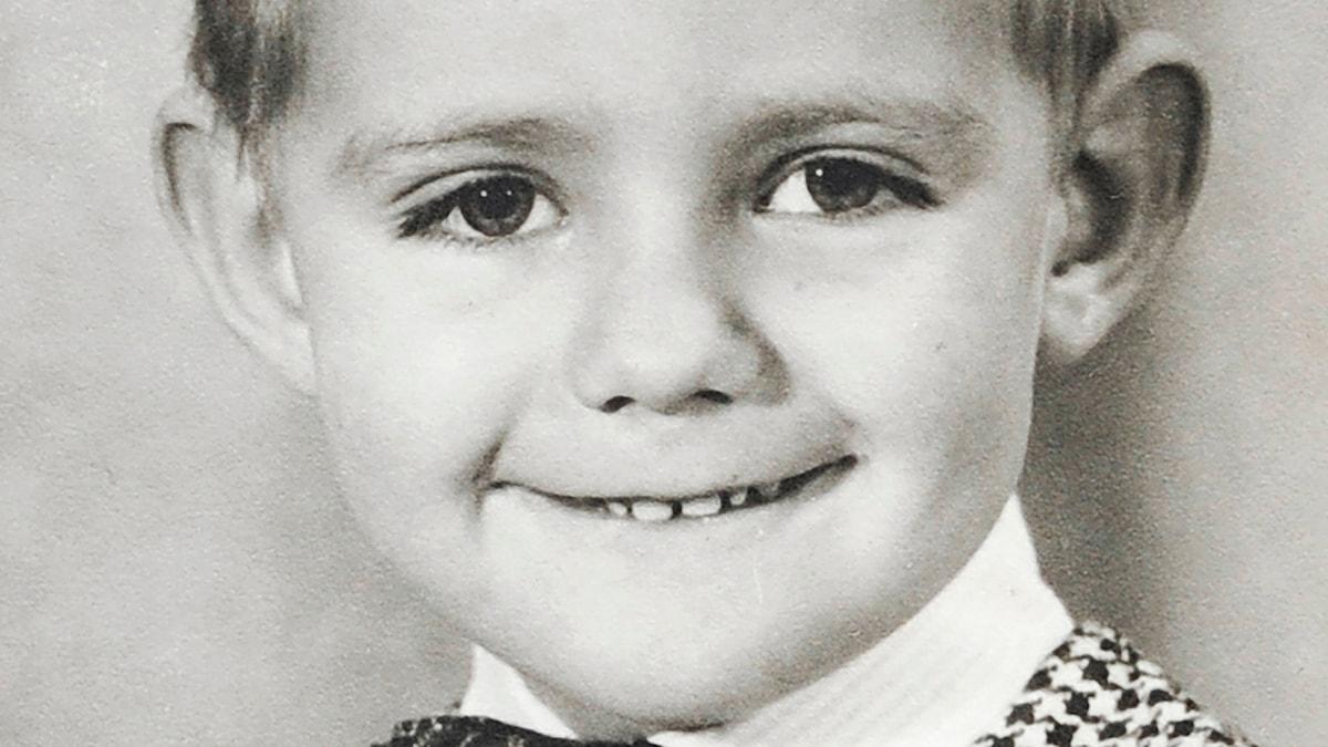 Michael som barn. Foto: Privat.