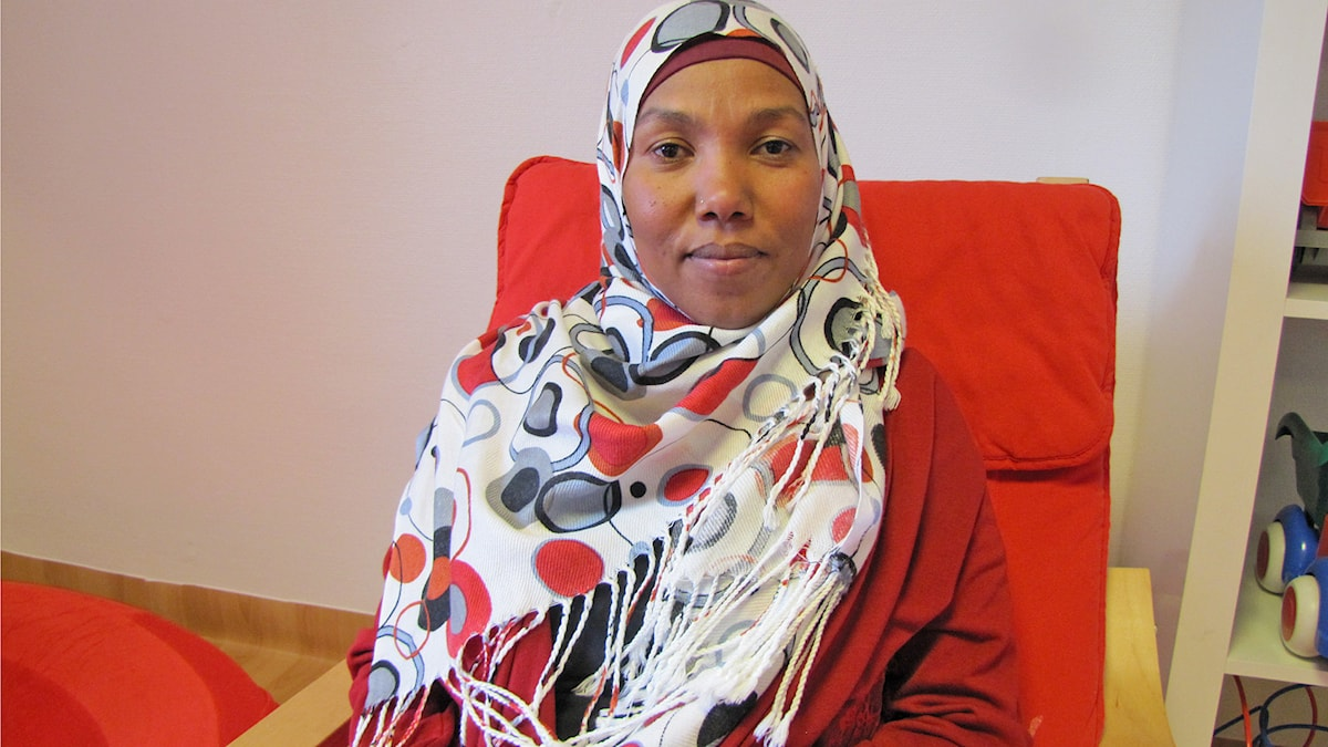 Mashair Ahmed Foto: Cecilia Mora/ Sveriges Radio