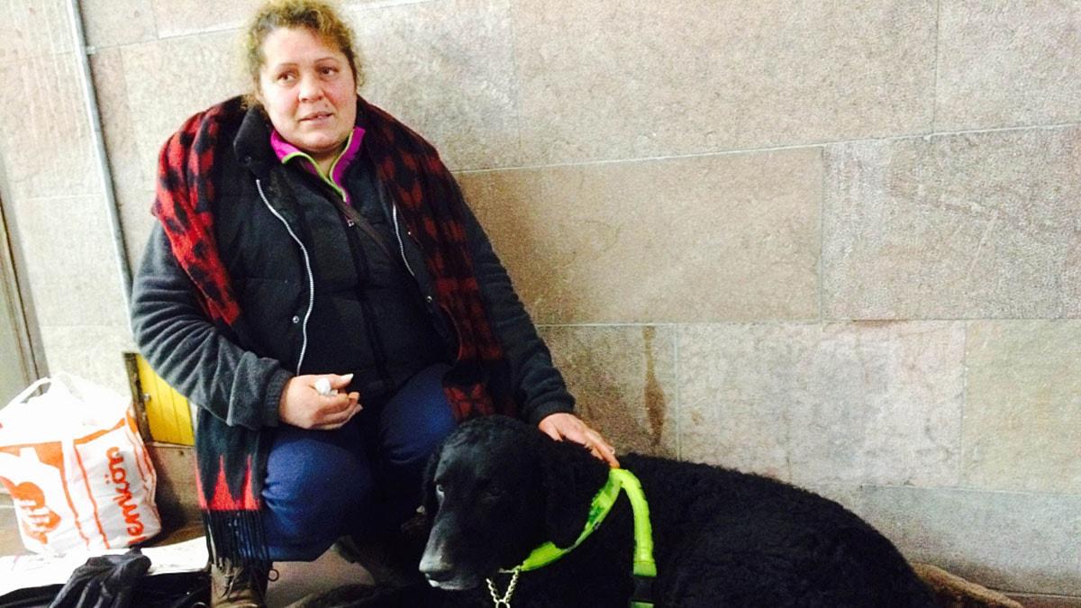 Viorica Vaduva hamnade i rätten efter en händelse i tunnelbanan då en ordningsvakt var inblandad. Foto: Privat