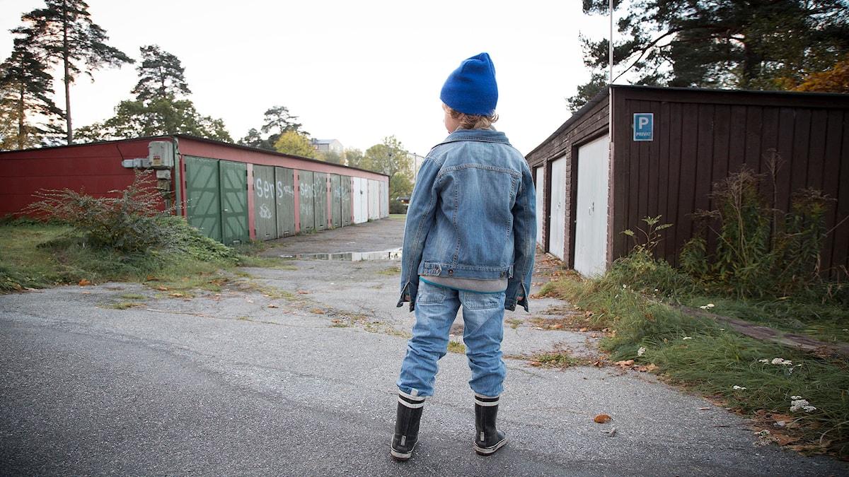 Sonny var åtta år när han blev omhändertagen av samhället. Foto: Micke Grönberg/Sveriges Radio
