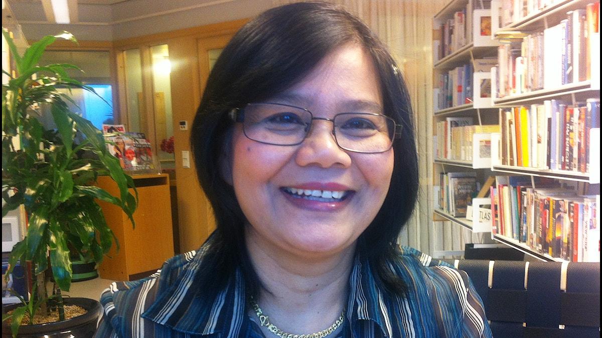 Surisa Johansson, undersköterska på Mälarbacken