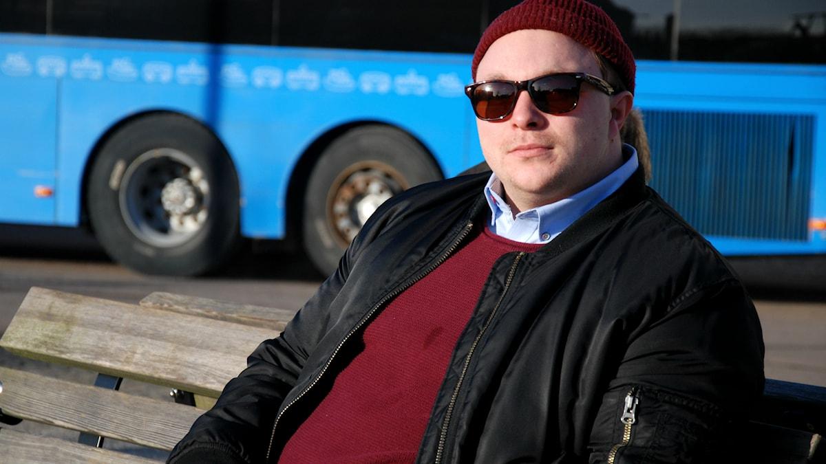 Hannes Boström har känt av baksidan av halo-effekten. Foto: Emil Östlund/Sveriges RadioHannes Boström har känt av baksidan av halo-effekten. Foto: Emil Östlund/Sveriges Radio