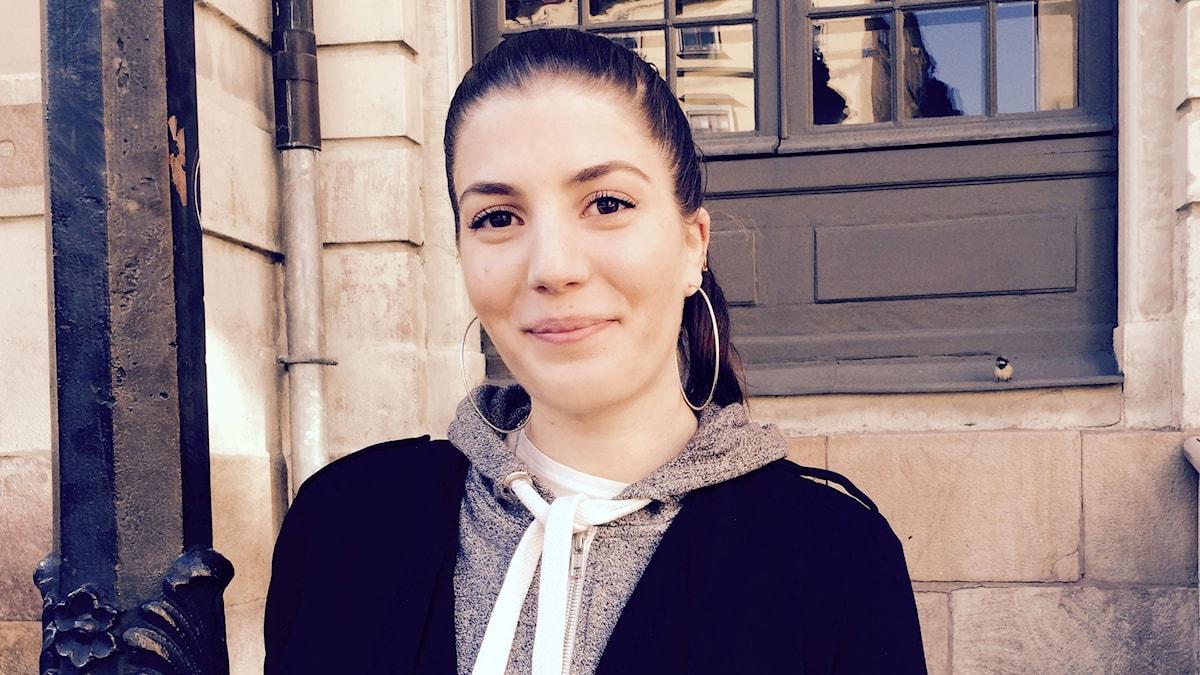 Ilona Touma, sekreterare i Assyriska Ungdomsförbundet. Foto: Åsa Furuhagen/Sveriges Radio