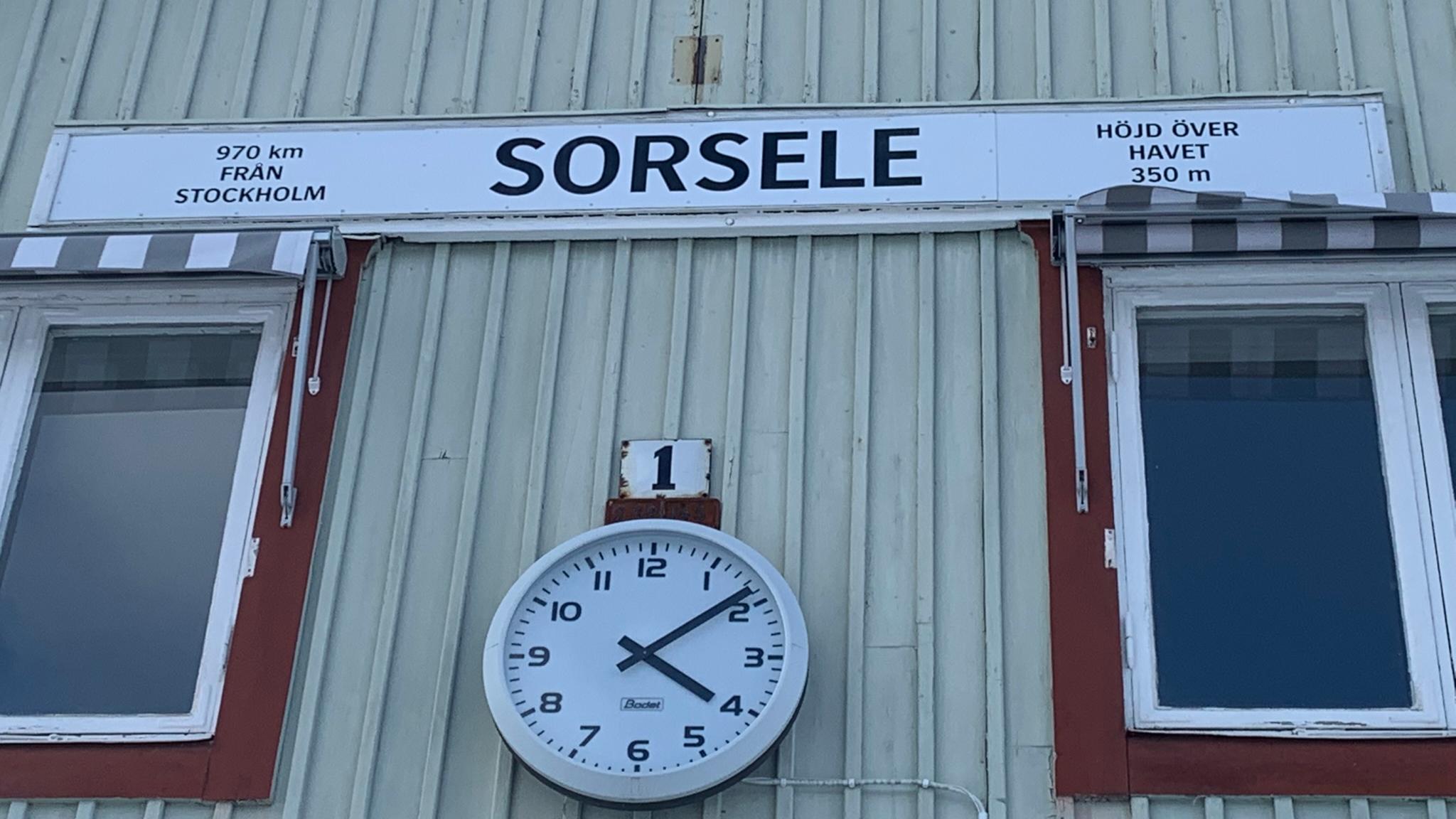 Sorsele en av sveriges minsta kommuner invånarmässigt