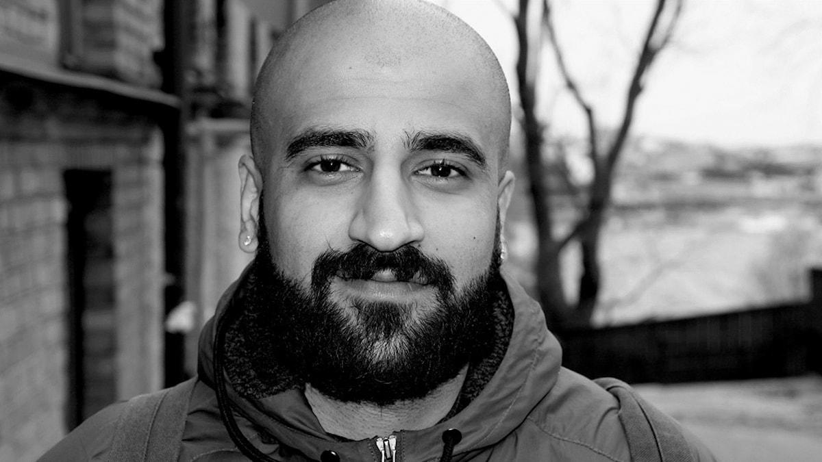 Arash Dehvari har bott större delen av sitt liv i Sverige men funderar på att flytta utomlands. Foto: privat