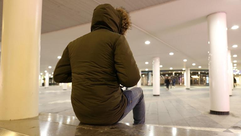Amin, 17 år har åkt genom 21 länder för att hamna i Sverige till slut.