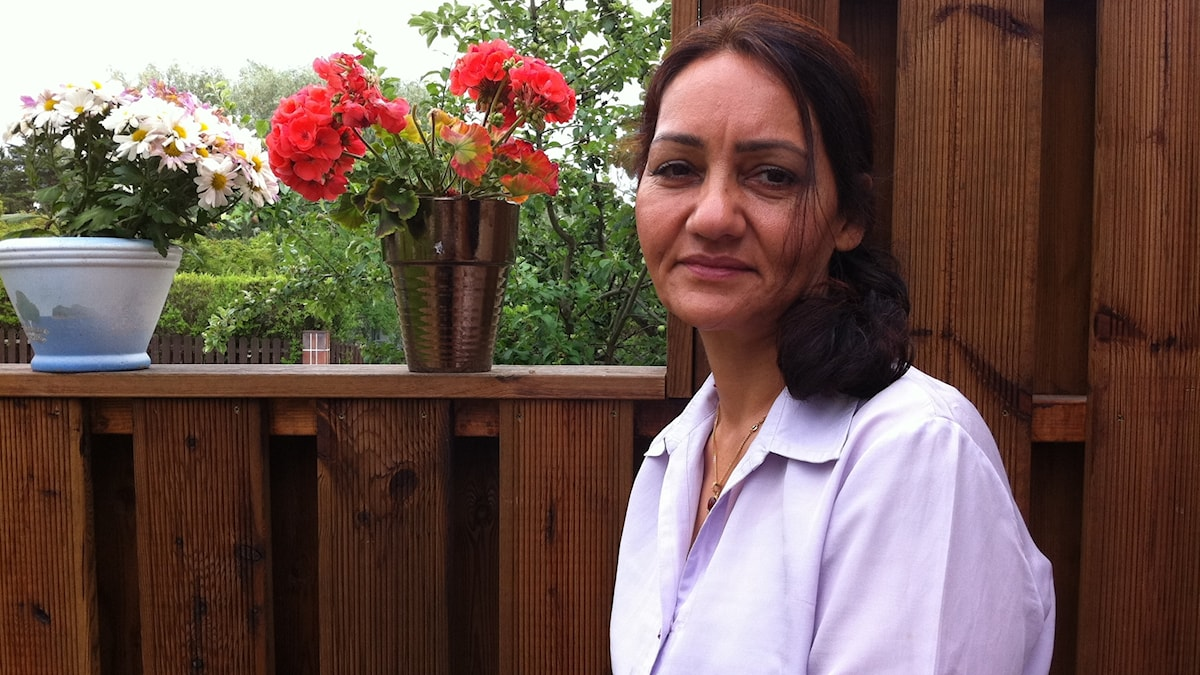 Nahid Karimi tänker ofta på var hon hör hemma
