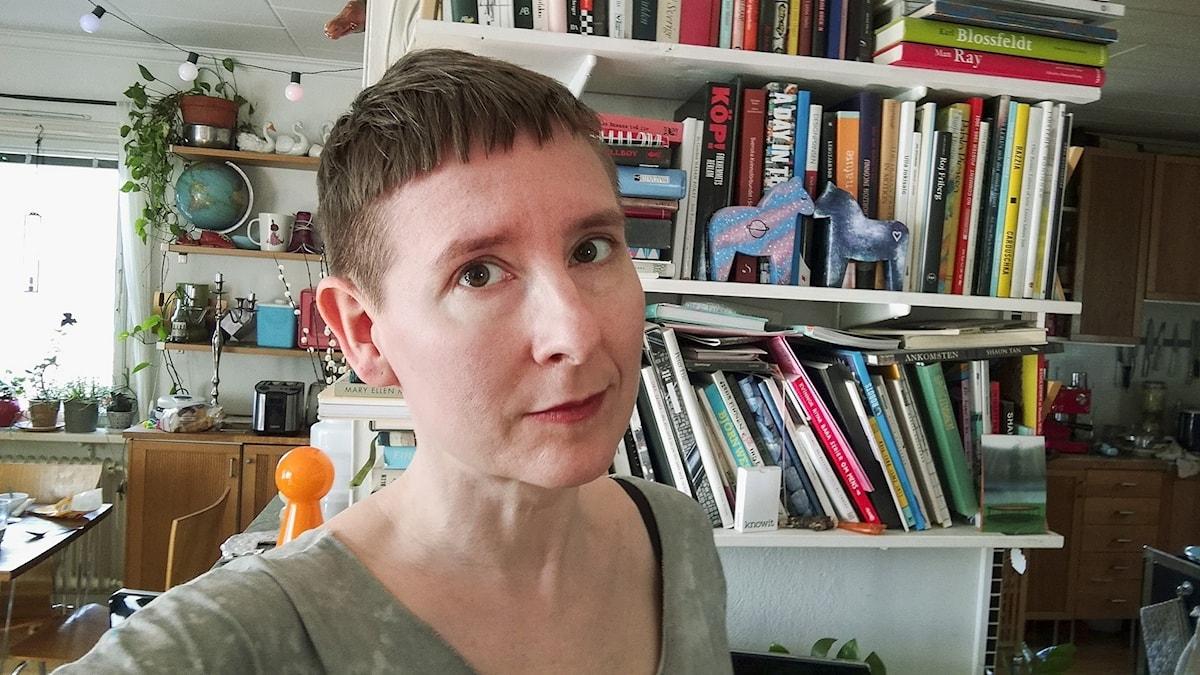 Lotta Sjöberg vill förmedla erfarenheter från arbetarklassen.