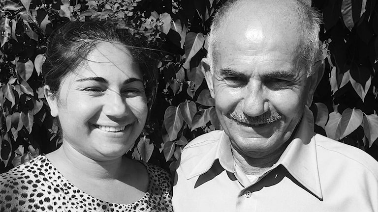 Sukran Kavak interprets for her father. A journalist with Swdish Radio's P1 Tendens programme, she did a survey of children with foreign born parents and asked them if they interpreted for their parents or relatives.