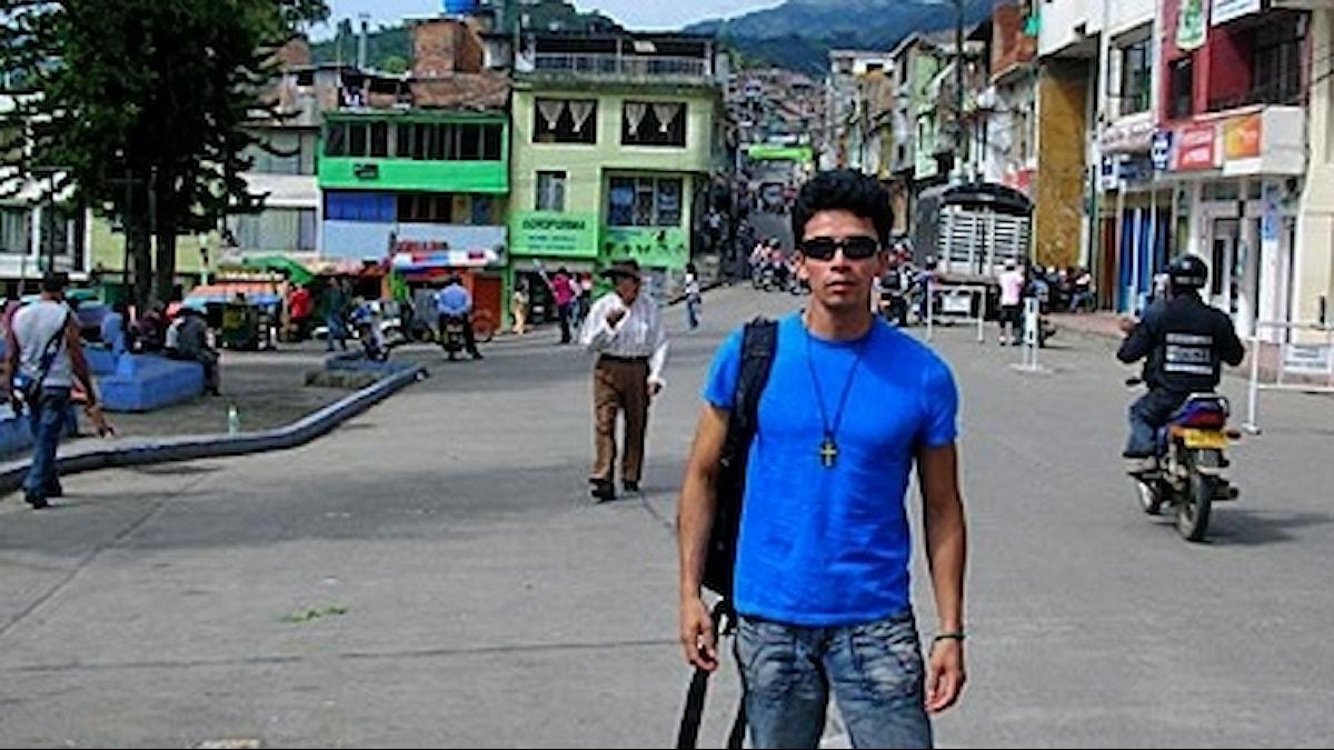 William i Colombia Foto: Privat